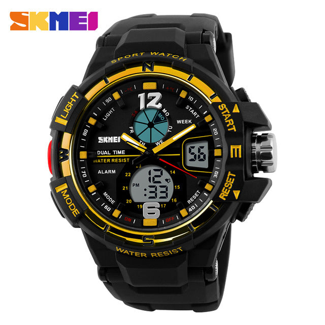 Men's LED Digital Casual Sports Watch