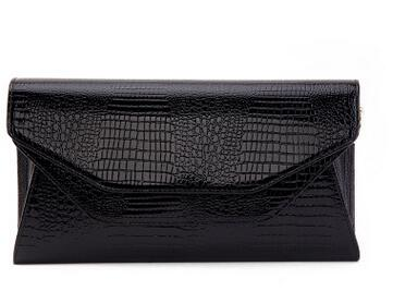 Stylish Crocodile Leather Clutch For Party - FKF Fashion