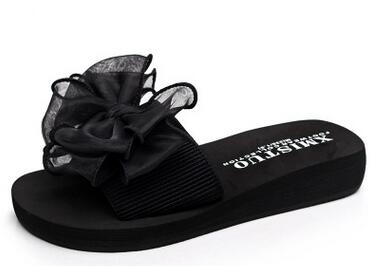 2017 Bow Thong Jelly Flip Flops - FKF Fashion