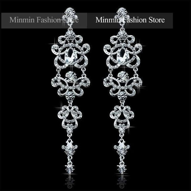 Butterfly Crystal Bridal Jewelry Sets for Women - FKF Fashion