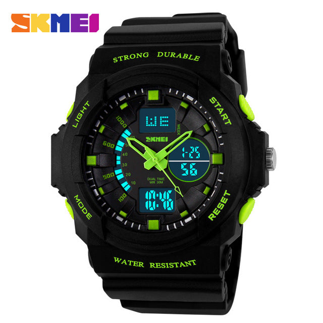 Digital LED Display Sports Watches For Men Women Kids Children - FKF Fashion