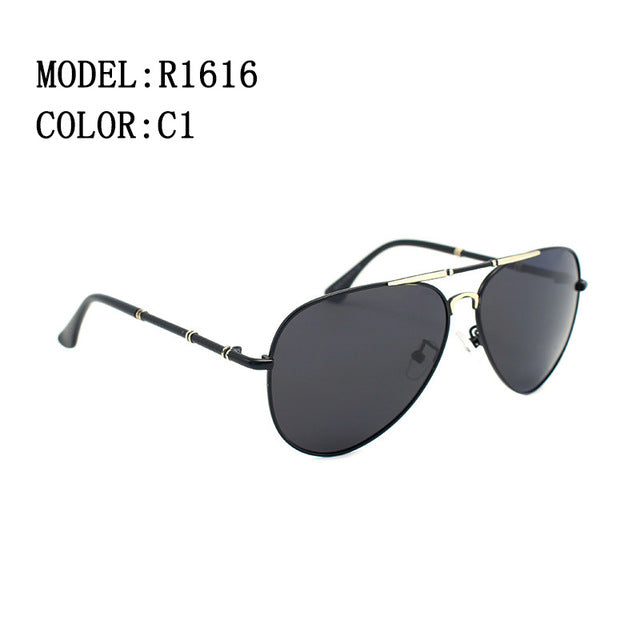 High quality classic brand polarized HD men sunglasses  Driving Anti-glare UV400 Goggle R.Bsunny R1616