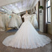 Ball Gown Bridal Dress Vintage Muslim Plus Size Lace Wedding Dress - FKF Fashion