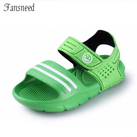 Slip-resistant summer sandals for girls & boys