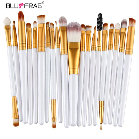 20pcs Eyeshadow Blending Powder Foundation Lip Eyeliner Brush - FKF Fashion