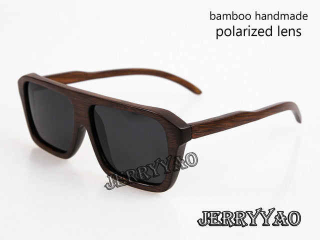 BerWer hot selling bamboo polarized  wooden sunglasses - FKF Fashion