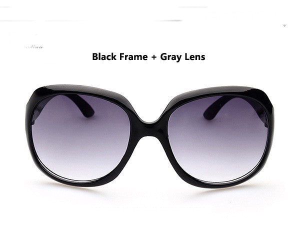 Summer style Eyewear vintage design classic Large Sunglasses women & men sun Glasses
