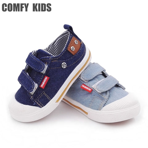 Comfy kids canvas shoes