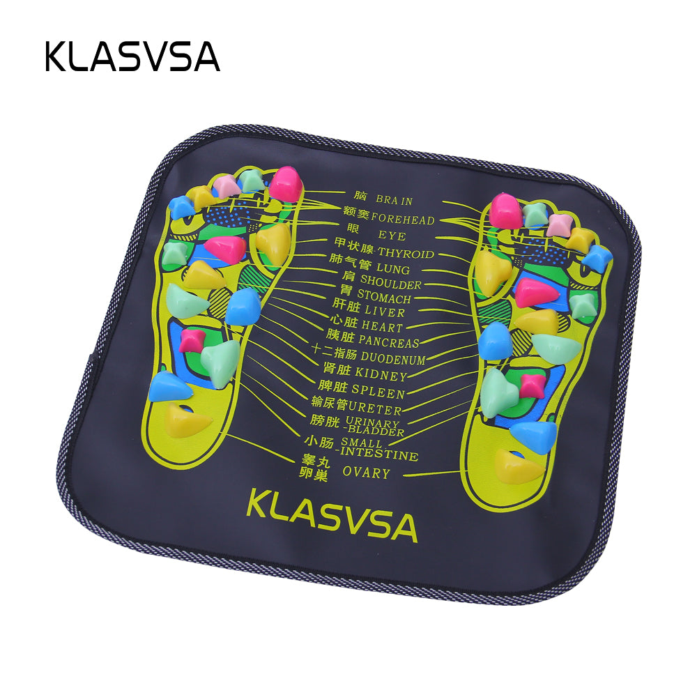 Reflexology Foot Leg Pain Relief Acupressure Mat Pad