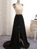 Crystal Beading Backless Long Evening Dress Party Prom Gown Vestidos De Festa Vestido Longo Para Casamento - FKF Fashion