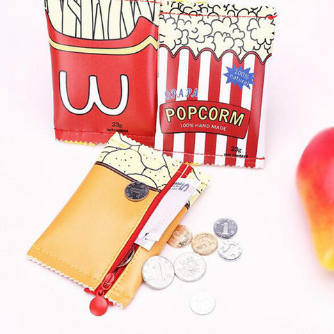PU Leather Creative Snacks & Coin Purse