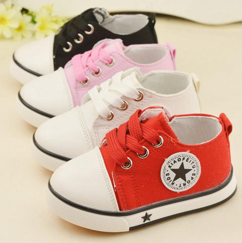 Unisex Soft Bottom Toddler Sneakers