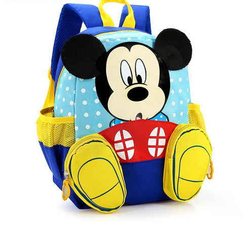 Mickey Kindergarten Backpack/kids School Bags/Satchel for Boys Girls