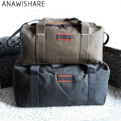 Travel Duffle Canvas Folding Waterproof Handbag