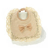 Baby Organic Cotton Bib Lace Infant Bibs Boys Girls Bandana - FKF Fashion