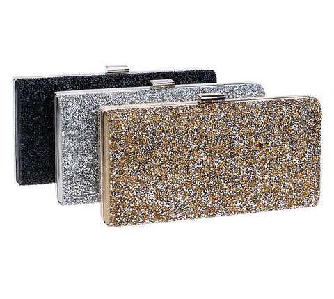 Bridal Diamond Rhinestone Clutch - FKF Fashion