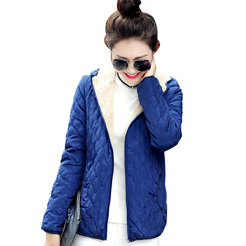 Hooded Fleece Solid Coat Spring Thin Outerwear - FKF Fashion