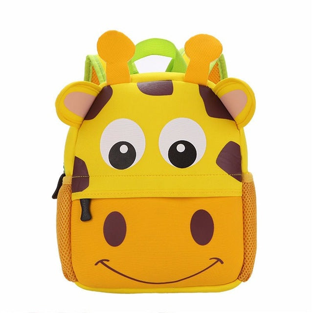 3D Cute Animal Design Backpack For Kids - FKF Fashion