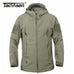 Army Camouflage Coat Military Tactical Jacket Men Soft Shell Rain Coat - FKF Fashion
