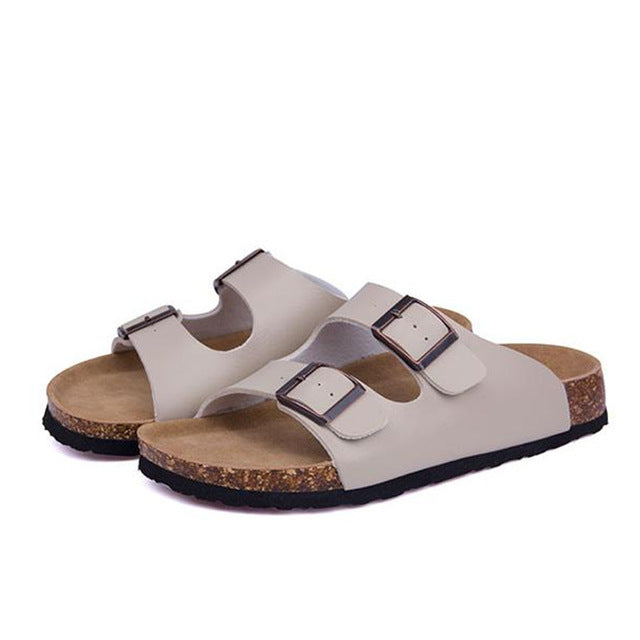 2017 Beach Double Buckle Clogs Sandals - FKF Fashion