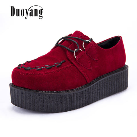Fashionable Creepers Shoes