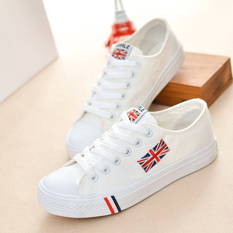 Flag Symbol Canvas shoes woman 2017