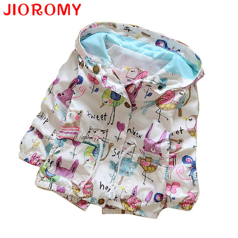 New Cotton Baby Girls Coat Spend Three Flowers Lollipops Dot Jacket