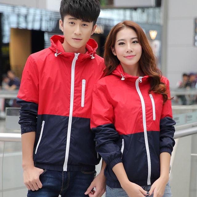 Men's Hooded Casual Jackets Male Jacket Coat For Men Thin Coat UniSex