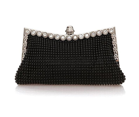 Diamond Beaded Shinestones Wedding Bag