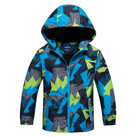 Spring Jacket Girls Boys Casual Windbreaker  Coats Kids Outerwear