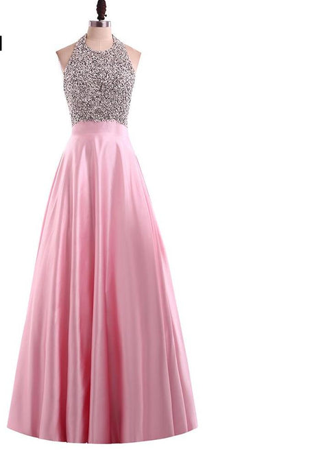Elegant Party Dress Floor Length Prom Dresses