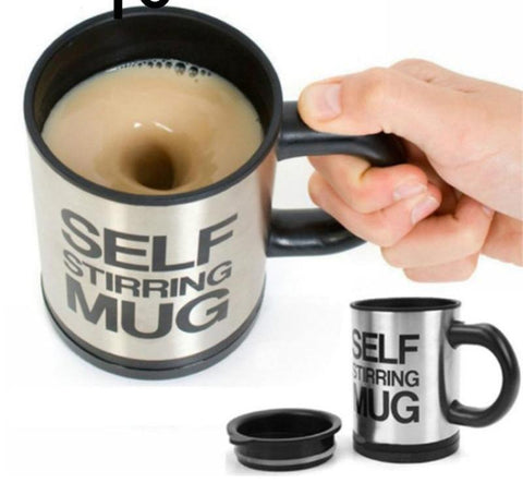 400Ml Mug Automatic Electric Lazy Self Stirring Mug Automatic Coffee Milk Mixing  Mug Tea  Smart Stainless Steel Mix cup - FKF Fashion