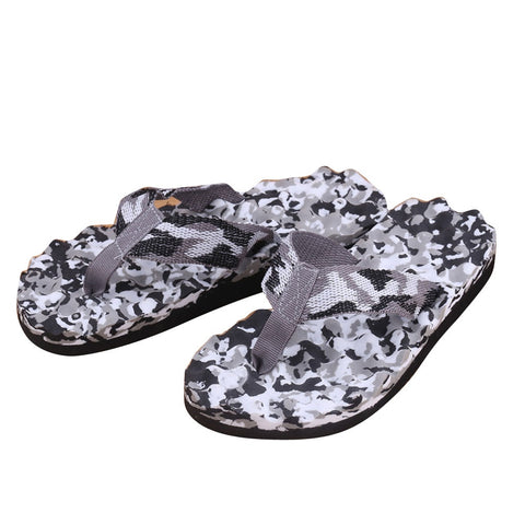 Comfort Sandals Summer Men Camouflage Flip Flops Shoes Sandals Open Toe Slipper indoor & outdoor Flip-flops 40-45 Male Shoes - FKF Fashion