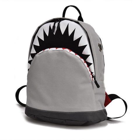 3D Shark School Bags - FKF Fashion
