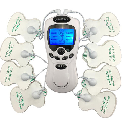 Digital meridian therapy Slimming Muscle Relax Fat Burner pain new 2*4 pads massage