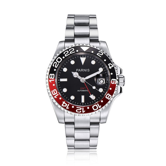 40mm Mechanical Watches GMT Sapphire Crystal Man Watch Diver Watch Automatic relogio masculino Role Luxury Watch Men - FKF Fashion