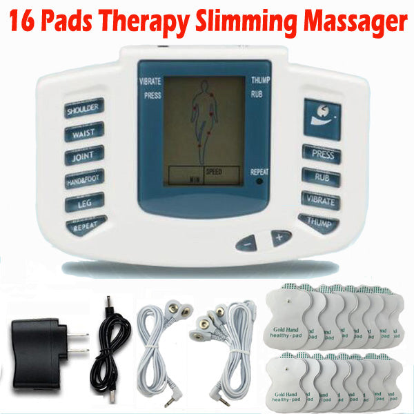 Electrical Stimulator Full Body Slimming Machine 16pads