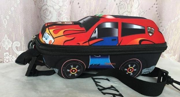 3D Car Children School Bags - FKF Fashion