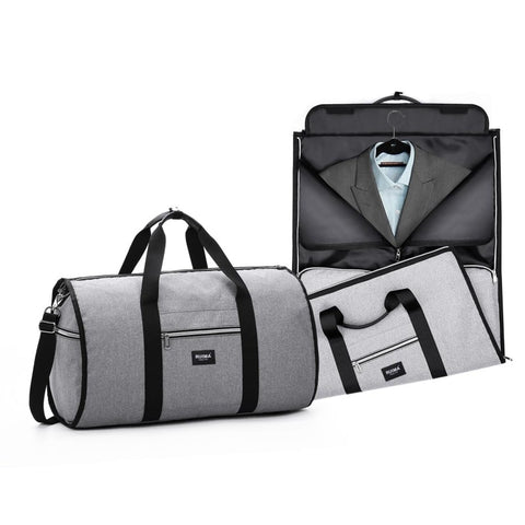 INNOVATIVE Garment Bags Shoulder Travel Bag 2 In 1 Large Luggage Duffel Totes Carry On Leisure Hand Bag
