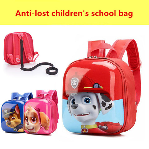 3D Puppy Cartoon Anti Lost School Bags - FKF Fashion