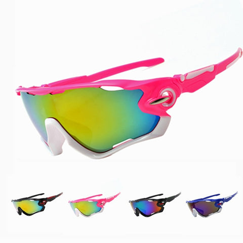 Unisex Windproof Sports Sunglasses UV400 For Hiking & Cycling