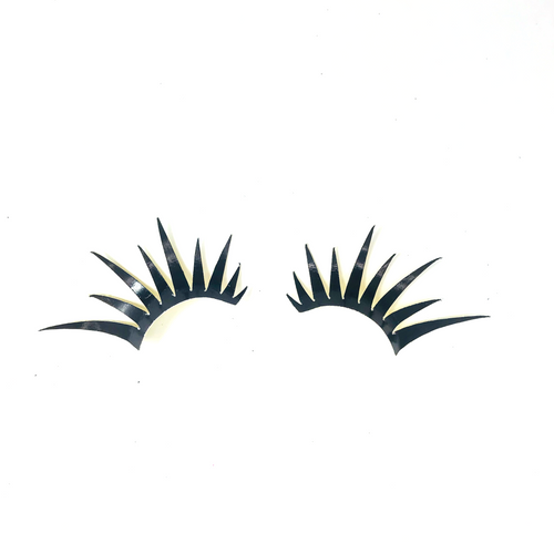 Gold Glitter Lashes