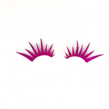 Pink Glitter Lashes