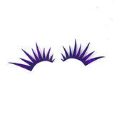Purple Glitter Lashes