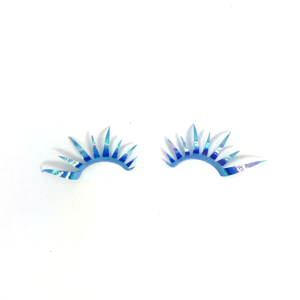 Holographic Blue Lashes
