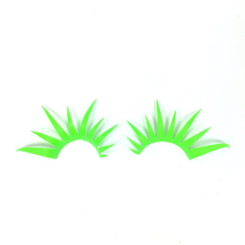 Neon Green UV Reactive Lashes