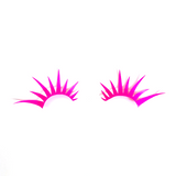 Neon Pink UV Reactive Lashes