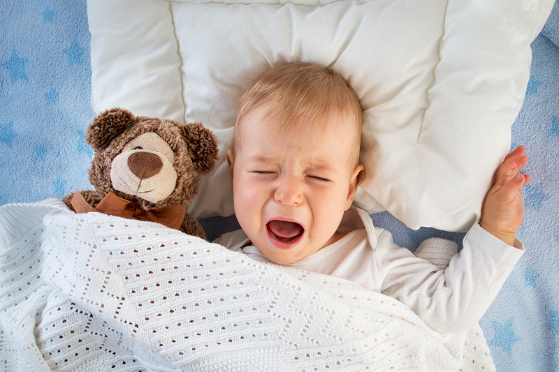 Why your baby won't sleep!