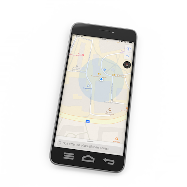parvel app baby monitor gps track position