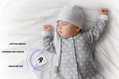 Parvel GO babymonitor [bluetooth / movements / temperature]